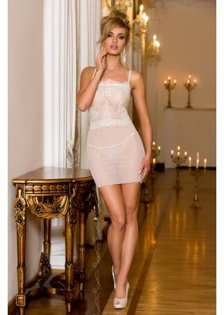 Mežģīņu babydoll kleitiņa šampanieša krāsā V-6969 Bells Axami Naktskrekli, Pidžamas, Halāti Greetha