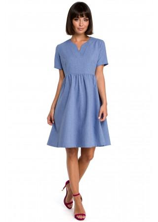 Kleita zila B081-blue BE Kleitas Greetha