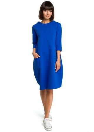 Kleita zila B083-royal blue BE Kleitas Greetha