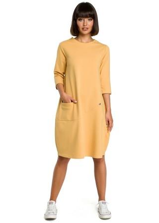 Kleita dzeltena B083-yellow BE Kleitas Greetha