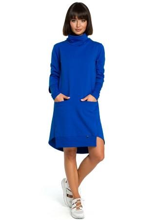 Kleita zila B089-royal blue BE Kleitas Greetha