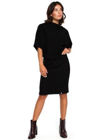 Ērta kleita melna B097-black BE Kleitas Greetha