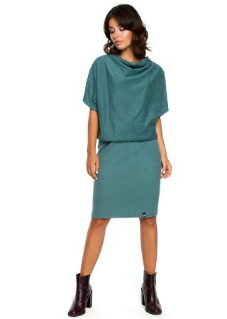 Ērta kleita tirkīzzila B097-turquoise BE Kleitas Greetha
