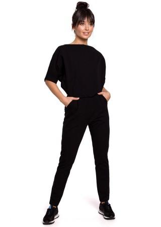 Brīvā laika apģērbs melns B138-black BE Bikškostīmi, Kombinezoni, Komplekti Greetha