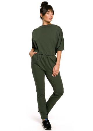 Brīvā laika apģērbs zaļš B138-military green BE Bikškostīmi, Kombinezoni, Komplekti Greetha