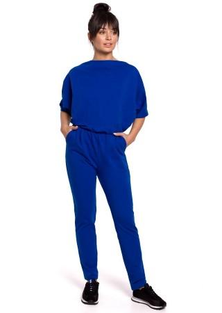 Brīvā laika apģērbs zils B138-royal blue BE Bikškostīmi, Kombinezoni, Komplekti Greetha