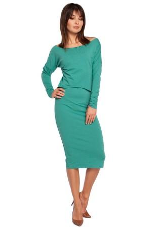 Kleita zaļa B001-green BE Kleitas Greetha
