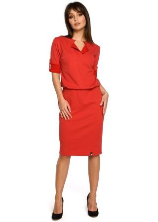 Kleita sarkana B056-red BE Kleitas Greetha