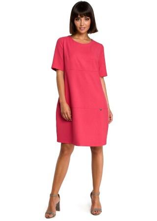 Kleita rozā B082-pink BE Kleitas Greetha