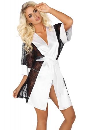 Stephanie Halāts ar mežģīnēm balts Erotiskie apģērbi, Apakšveļa, Aksesuāri Greetha