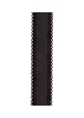 Julimex Krūštura lences RB 407, 18 mm ar metāla āķīšiem melnas Kopšana un aksesuāri Greetha