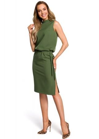 Eleganta kleita zaļa M423-green Moe Kleitas Greetha