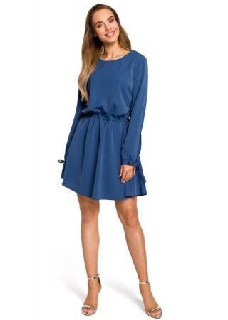 Sievišķīga kleita zila M426-blue Moe Kleitas Greetha