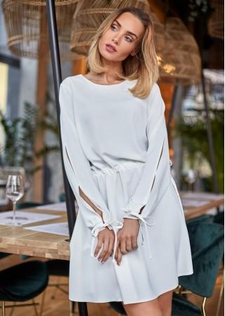 Sievišķīga kleita balta M426-ecru Moe Kleitas Greetha