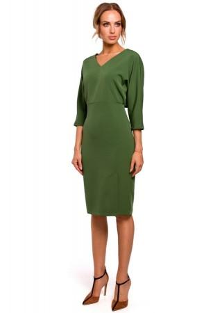 Skaista kleita zaļa M464-green Moe Kleitas Greetha
