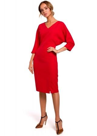 Skaista kleita sarkana M464-red Moe Kleitas Greetha