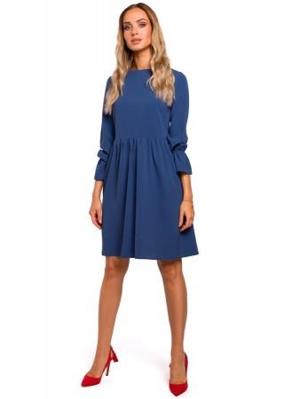 Pievilcīga kleita zila M465-blue Moe Kleitas Greetha
