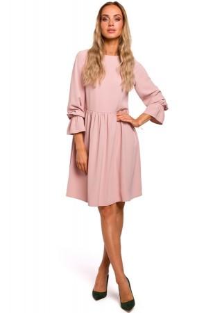 Pievilcīga kleita pūdera rozā M465-powder Moe Kleitas Greetha