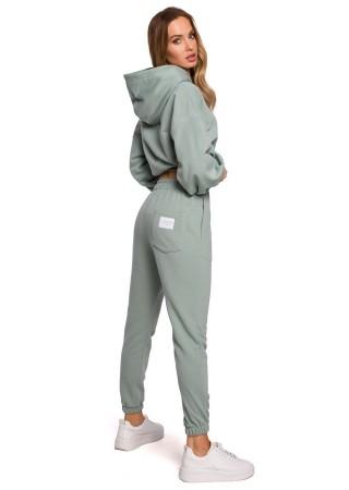 Brīvā laika komplekts pelēks M588K-mint Moe Loungewear, Streetwear Greetha