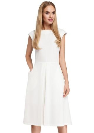 Balta kleita M296-ecru Moe Kleitas Greetha