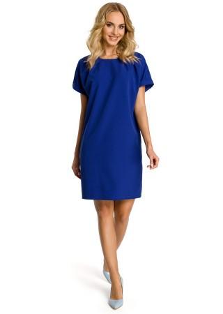 Pievilcīga kleita zila M337-royal blue Moe Kleitas Greetha