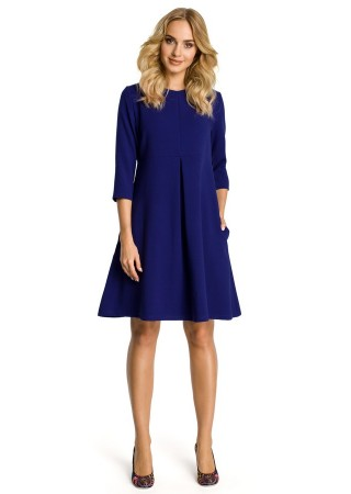 Zvanveida kleita zila M338-royal blue Moe Kleitas Greetha