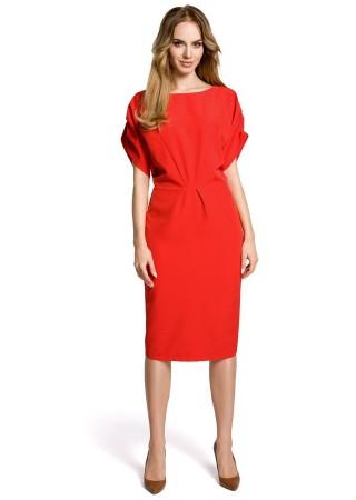 Skaista kleita sarkana M364-red Moe Kleitas Greetha
