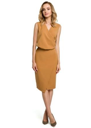 Pievilcīga kleita brūna M395-cinnamon Moe Kleitas Greetha