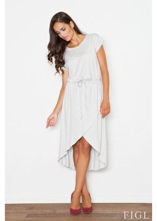 Sievišķīga kleita gaiši pelēka 48262 Figl Kleitas Greetha