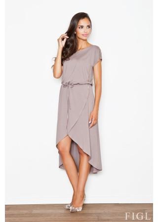 Sievišķīga kleita pūderkrāsas 48263 Figl Kleitas Greetha