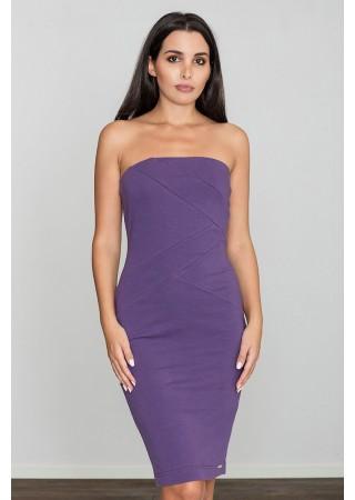 Bodycon kleita violeta 111042 Figl Kleitas Greetha