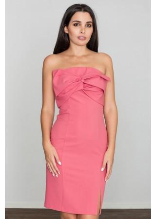 Kokteiļkleita rozā 111051 Figl Kleitas Greetha