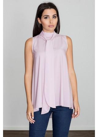 Elegants tops ar žabo rozā 111146 Figl