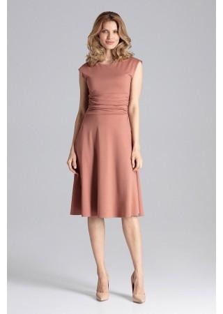 Stilīga kleita brūna 129763 Figl Kleitas Greetha