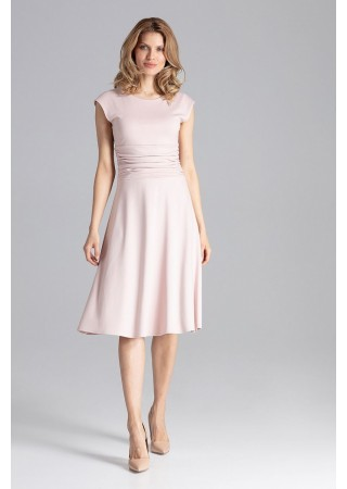 Stilīga kleita gaiši rozā 129764 Figl Kleitas Greetha
