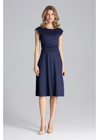 Stilīga kleita tumši zila 129765 Figl Kleitas Greetha