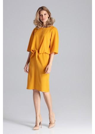 Stilīga kleita sulīgi dzeltena 129779 Figl Kleitas Greetha