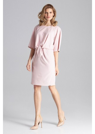Stilīga kleita gaiši rozā 129782 Figl Kleitas Greetha