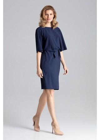 Stilīga kleita tumši zila 129784 Figl Kleitas Greetha