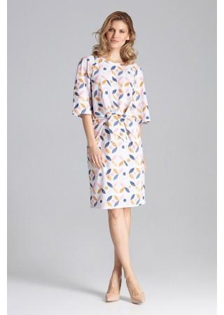 Stilīga kleita ar rakstu 129785 Figl Kleitas Greetha
