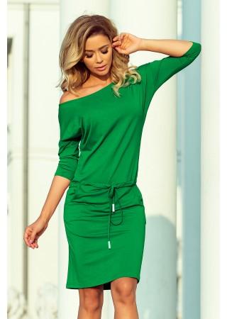 Sportiska stila kleita zaļa 13-95 Numoco Kleitas Greetha