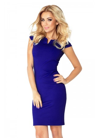 Klasiska kleita zila Numoco Kleitas Greetha
