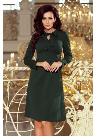 Stilīga kleita ar žabo sūnu zaļa Numoco Kleitas Greetha