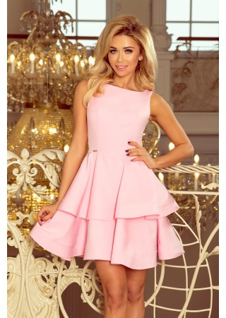 Sievišķīga kupla kleita gaiši rozā Numoco Kleitas Greetha