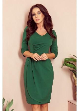 Iris Sievišķīga kleita zaļa 255-2 Numoco Kleitas Greetha