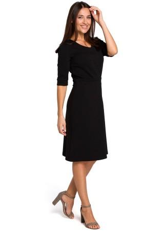 Kleita melna S153-black Style Kleitas Greetha