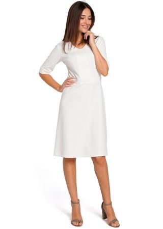 Kleita balta S153-ecru Style Kleitas Greetha