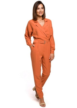 Elegants bikškostīms oranžs S209-orange Style Bikškostīmi, Kombinezoni, Komplekti Greetha