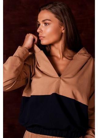 Stilīgs hūdijs ar kapuci S229-model 3 Style Džemperi, Puloveri, Jakas Greetha