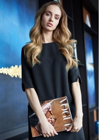 Kleita melna Style Kleitas Greetha